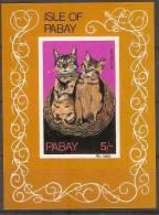 Pabay Chat : Cat   Souvenir Sheet - Hauskatzen