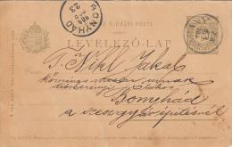 37734- ROYAL CROWN, POSTCARD STATIONERY, 1904, HUNGARY - Postwaardestukken