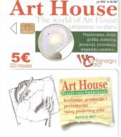 Montenegro-Art House, DUMMY CARD(no Code) - Montenegro