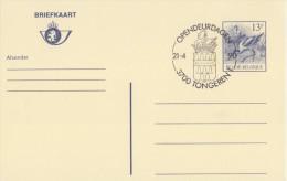 BELGIË/BELGIQUE:Illustr. Date Cancel On Post. St.:## 21-4-90:TONGEREN:Open Deur Dagen ##:POST,HERALDRY,ZWAAN,CYGNE.SWAN. - Armoiries