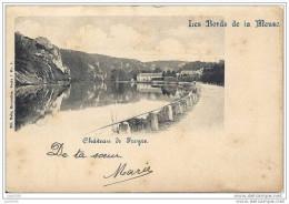 FREYR ..-- WAULSORT ..-- HASTIERE ..-- Château . Vers LIEGE ( Melle Mady Bernard ) . Voir Verso . - Hastière