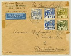 Nederlands Indië - 1936 - Openingsvlucht Soerabaja - Balikpapan - Indes Néerlandaises