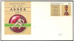 Australia/Australie: Intero, Stationery, Entier, Giocatore Di Cricket, Joueur De Cricket, Cricketer - Cricket