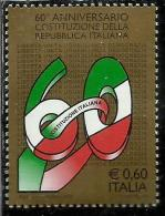 ITALIA REPUBBLICA ITALY REPUBLIC 2008 PROMULGAZIONE DELLA COSTITUZIONE MNH - 6. 1946-.. Republic
