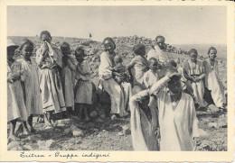 ERITREA GRUPPO DI INDIGENI ASMARA NON VG. IN FOTOCELERE - Eritrea