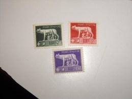 ITALIE ITALIA  1929 Louve Romaine   Neuf** MNH Sauf Le 5 Lire * - 1900-44 Vittorio Emanuele III