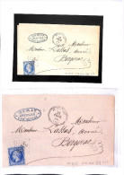 DORDOGNE- GC 3483 St ALVERE - Superbe Lettre -superbe Frappe -  Indice 8 Pothion -