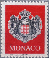 2280 ARMOIRIE Sur Fond Rouge OBLITERE ANNEE 2000 - Monaco