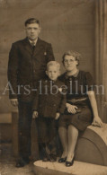 Photo Ancien / Foto / Old Photo / Family / Famille / Karel Maets / Louisa Van Den Brande / Joske Maets - Personnes Identifiées