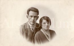 Photo Ancien / Foto / Old Photo / Couple / Jef Van Den Heuvck / M. Van Den Brande - Personnes Identifiées