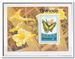 Grenada 1975, Postfris MNH, Flowers, Butterflies - Grenada (1974-...)