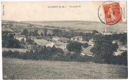 FAVIERES . 54 . Vue Générale .1910 - Autres Communes
