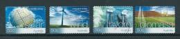 2004 Australia Complete Set Energy Self-adhesive Used/gebruikt/oblitere - 2000-09 Elizabeth II