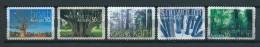 2005 Australia Complete Set Trees Self-adhesive Used/gebruikt/oblitere - 2000-09 Elizabeth II