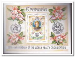 Grenada 1973, Postfris MNH, Flowers, Person - Grenada (1974-...)