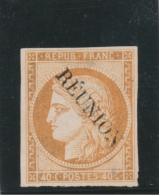 Réunion _  Céres  40c Orange_n° 11 ( 1891 )