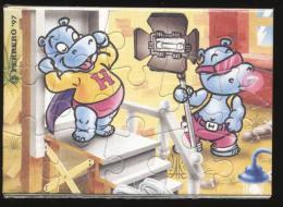 Europe 1997 - Ferrero - Cartoons, Cinema / Movies, Hippo - Francobolli