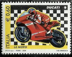 ITALIA REPUBBLICA ITALY REPUBLIC 2008 LE MOTO LA DUCATI DESMOSEDICI GP7 MNH - 6. 1946-.. Republic