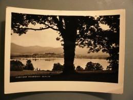 Monate - Lago Con Travedona - Viaggiata 1953 - Varese