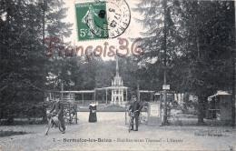 (51) Sermaize Les Bains - Etablissement Thermal - L´Entrée - Vélo Cyclo Cyclisme - 2 SCANS - Sermaize-les-Bains