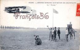 (51) Reims - Grande Semaine D'aviation De Champagne - Le Farman - TTBE Photographe - 2 SCANS - Reims