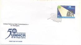 Pakistan 2000, FDC, UNHCR - Pakistan