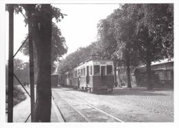 REPRODUCTION TRAIN VOIR DOS 67 Strasbourg Marché Train Pour Westhoffen En Septembre 1945 - Strasbourg