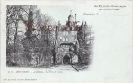 (51) Montmort Lucy - Le Château - La Porte D'Entrée - 2 SCANS - Montmort Lucy
