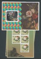 Aitutaki 2011 Peony Flower Miniature Sheets MNH - Aitutaki