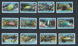 Penrhyn Island 2013 Fish Series II Set Of 12 MNH - Penrhyn