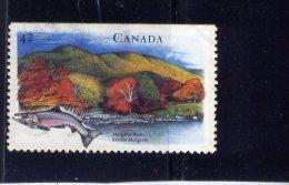 CANADA  1992 USED # 1408,  HERITAGES RIVERS: MARGAREE In NS USED - 1952-.... Règne D'Elizabeth II