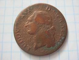 France 1 Sol 1781/91 - 987-1789 Royal