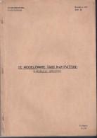 Studieboek De Middelzware Tank M47(Patton) - 1960 - Libri, Riviste & Cataloghi