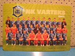 Football Club VARTEKS Varazdin Pocket Calendar 2007 - Calendars