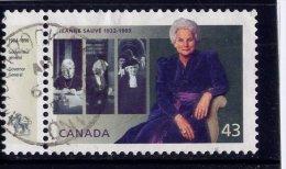 CANADA, 1994, USED # 1509,   JEANNE SAUVE - Oblitérés