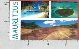 CARTOLINA VG MAURITIUS - Couleurs Locales - Panorama - Vedutine - 10 X 18 - ANN. 20?? - Mauritius