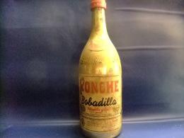 ANTIGUA BOTELLA DE LITRO PONCHE BOBADILLA VINTAGE Años 1970 / 1980 - Licor Espirituoso
