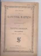 Hulde Aan Kanunnik Martens - St Niklaas 1901 - Cristianesimo