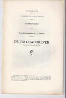 De Coloradokever - 1939 - Ministerie Van Landbouw - Libros, Revistas, Cómics