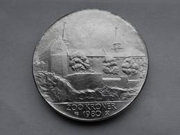 Noorwegen 200 Kroner, 1980 Akershus Castle - Noorwegen