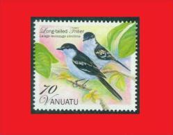 Vanuatu 2012, Échenilleur Pie Oiseau / Bird Long-tailed Triller  MNH ** - Passereaux