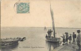 FOURAS LES BAINS TYPES DE PECHEURS 17 - Fouras-les-Bains