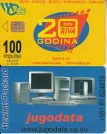 MONTENEGRO - Fotoriva 20 Years, Jugodata, 08/02, Sample(no CN)