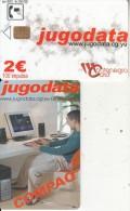 MONTENEGRO - Jugodata/Compaq, 06/03, Sample(no CN)
