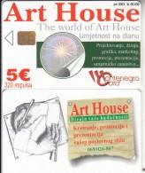 MONTENEGRO - Art House, Tirage 50000, 06/03, Sample(no CN)