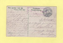 Bayer Feldpostexpedition  Der 39 Res Division - 3-11-1915 - Alemania