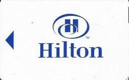 Hilton Hotels - Hotel Room Key Card - Hotel Keycards