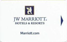 JW Marriott Hotels & Resorts - Hotel Keycards