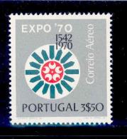 ! ! Portugal - 1970 Air Mail - Af. CA 11 - MNH - Neufs