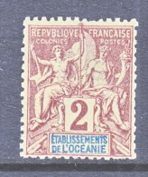 FRENCH  OCEANIA  2     * - Oceania (1892-1958)
